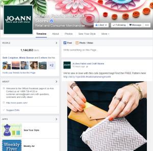 Joann Facebook